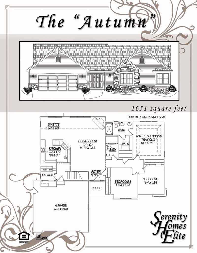 The 03) Autumn - Designed and Customizable by Serenity Homes Elite