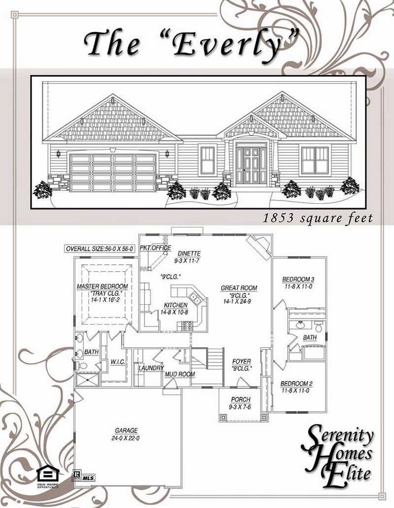 The 05) Everly - Designed and Customizable by Serenity Homes Elite