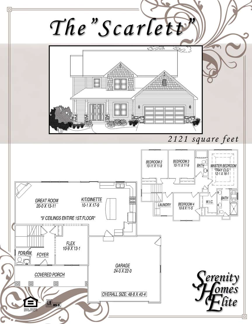 The 03) Scarlett - Designed and Customizable by Serenity Homes Elite