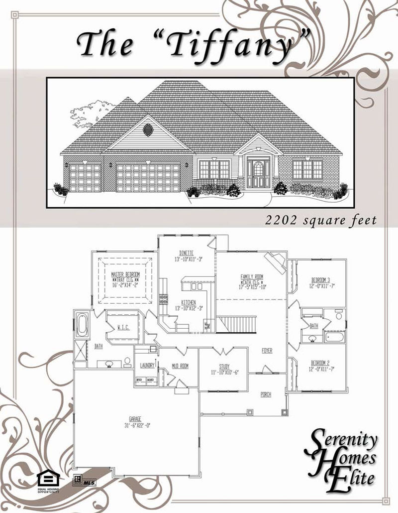 The 11) Tiffany - Designed and Customizable by Serenity Homes Elite